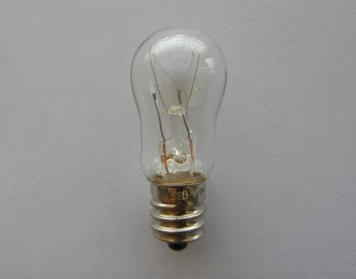 T18 X 48mm (T18), E12 Base - Incandescent Lamp